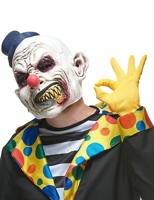 Masque Clown Hideux Latex Halloween