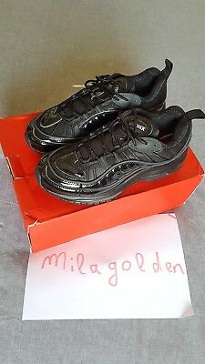 Nike air max 98 / supreme noir black taille US 8 / UK 7 / EUR 41