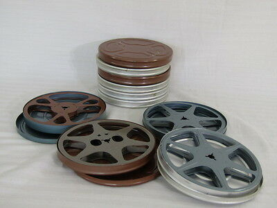 10 X 8Mm Film Cans With Reel's