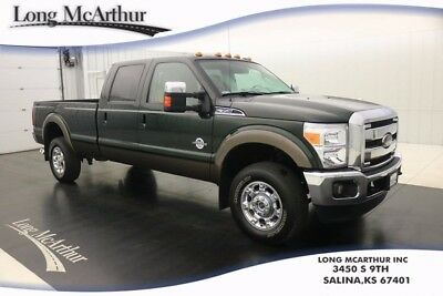2016 Ford F-350 LARIAT 4WD 6 SPEED AUTOMATIC CREW CAB MSRP $64145$ ONE OWNER! REMOTE START POWERED HEATED/COOLED SEATS SPRAY IN BEDLINER