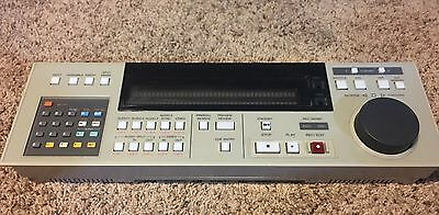 """Sony BVH-3000 or BVH-3100 1"""" machine Control Panel Only"""