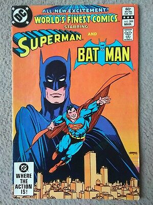 DC superman and batman issue #289
