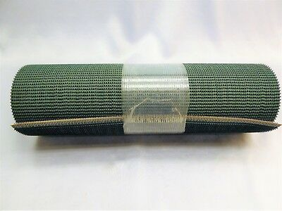 "Dark Green Rough Conveyor Belt 12 "" x 120 "" Laced With SS Clip"