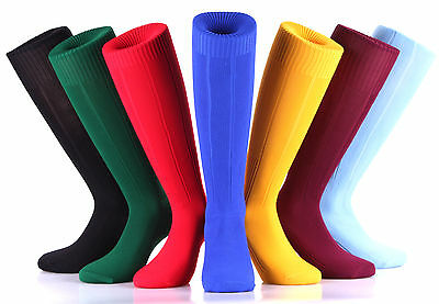 Samson® Football Socks Plain Knee High Sports Athletic Training Mens Womens Kids