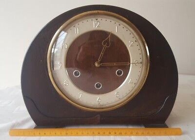 Smiths Westminster  Chimes ART DECO MANTLE CLOCK