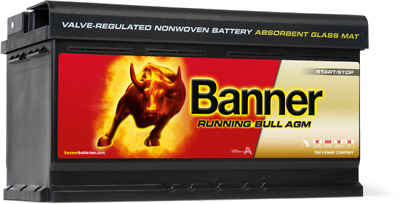 019 AGM Banner Running Bull Leakproof Battery (59201 - Previously known as 59501