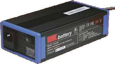 MK 24V 2A Wheelchair Battery Charger (with 3-pin plug)