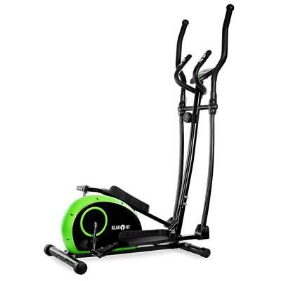 Brand New Green/black Klarstein Cross Trainer Fitness Equipment Exercise Lcd