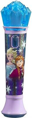 Disneys Frozen Karaoke Microphone with MP3 Connection   Blue & Pink