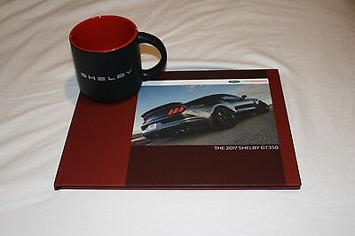 (NEW) 2017 Ford Mustang Shelby GT350 Coffee Table Book & Ceramic Mug
