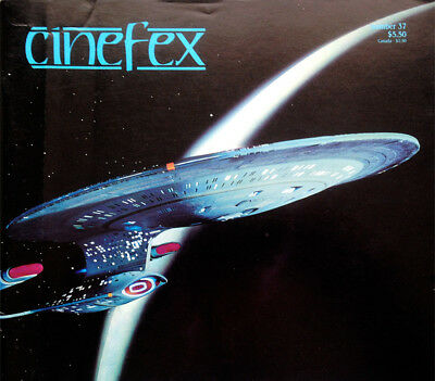 Cinefex Special Effects Magazine Number 37