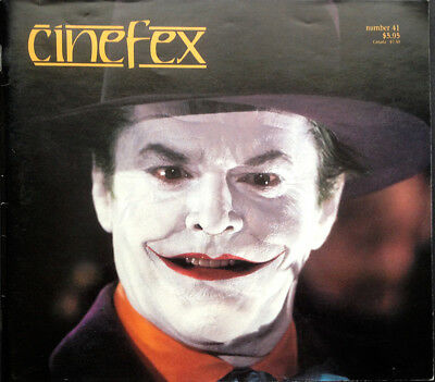 Cinefex Special Effects Magazine Number 41