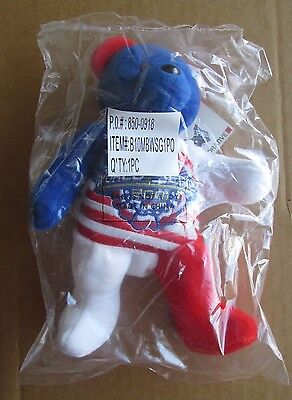 2001 Post World Series Yankees Spirit Collectible Bear Usa Limited Ed /26,000