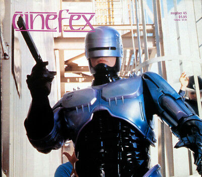 Cinefex Special Effects Magazine Number 45