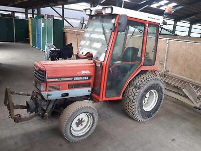Allrad Kommunalschlepper Hoflader Schlepper Shibaura SP3040  New Holland 30 hp