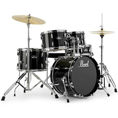 Pearl Roadshow Drum Kit with Cymbals & Stool