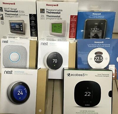 Brand New Wifi Thermostat Nest Honeywell ecobee work with Apple iphone samsung