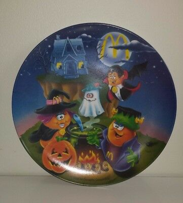 GUC McDonald's - HALLOWEEN McNUGGETS - Collectible 9 1/2' Melamine Plate