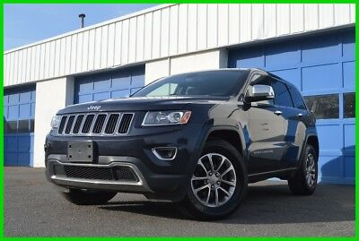 2014 Jeep Grand Cherokee Limited Leather Heated Seats Navigation Rear View Camera Power Tailgate Loaded Excellent