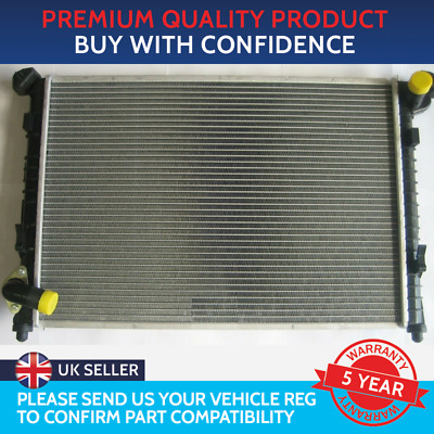 Brand New Radiator Mini One / Cooper R50 / R52 With Air Con (Angled Top Hose)
