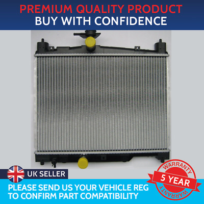 Brand New Radiator Toyota Yaris 1.0/1.3 Petrol 1999 To 2005 For Manual Vehicles