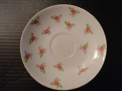 Duchess Rosebud saucer replacement bone china Made in England vintage