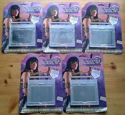 Complete set of 5 Xena Warrior Princess Digital Replays by MOVI Motion Vision