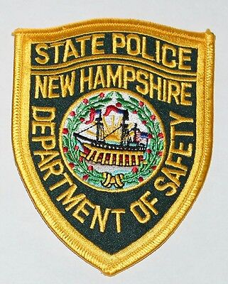 NEW HAMPSHIRE STATE POLICE NH Dept of Safety Troopers Highway Patrol patch