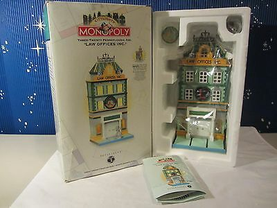Dept 56 320 PENNSYLVANIA AVE LAW OFFICES Monopoly Citylights   #13606   (1016SH)