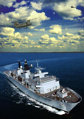Hms Bulwark - Hand Finished, Limited Edition (25)