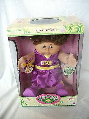 *NEW* Play Along Cabbage Patch Kid Cheerleader Curly Hair Cute!