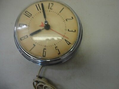 Vintage Westclox Electric Kitchen Wall Clock Non-Working