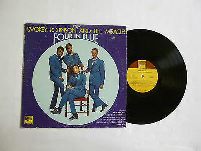 Smokey Robinson & The Miracles ~ Four In Blue ~ Ts297 ~ Ex/vg ~ 1969 Us Vinyl Lp