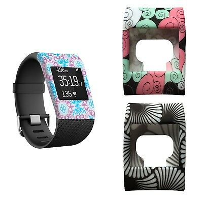 Fitbit Surge Slim Design Soft Shell Silicone Cover Sleeve - Choose Your Design!