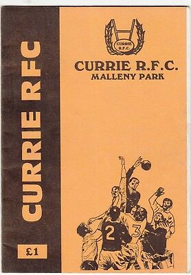 Currie v Heriot's FP 1990/1