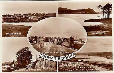Postcard - Bonar Bridge - 5 views