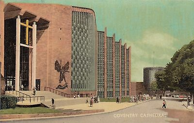 Postcard - Coventry - Cathedral