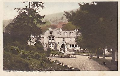 Postcard - Glendalough - Royal Hotel and Grounds