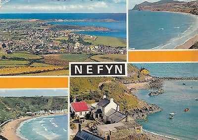 Postcard - Nefyn - 4 Views