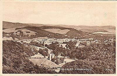 Postcard - Peebles - From the West