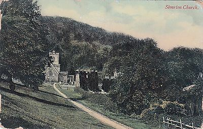 Postcard - Stourton Church