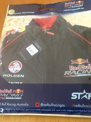 Red Bull Racing Australia V8Supercars Mens Team Spray Jacket   Size S