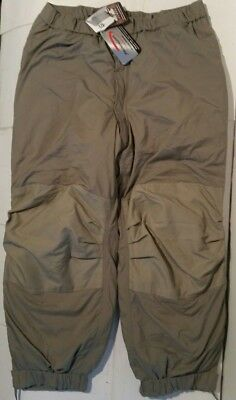GEN III PRIMALOFT Level 7 L7 Extreme Cold Weather ECWCS Trousers Large Regular