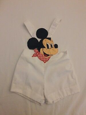 Vintage baby togs mickey mouse romper