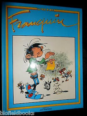 GASTON: Livre D'Or Franquin - French Comic Strip Cartoon Book - Jacky Goupil