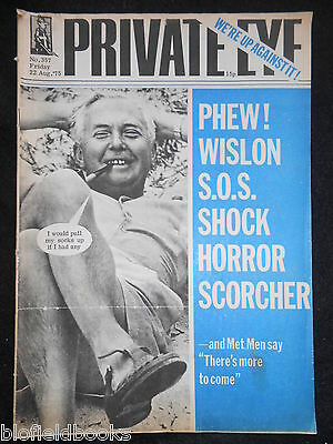 PRIVATE EYE - Vintage Satirical Political Humour Magazine - 22nd August 1975