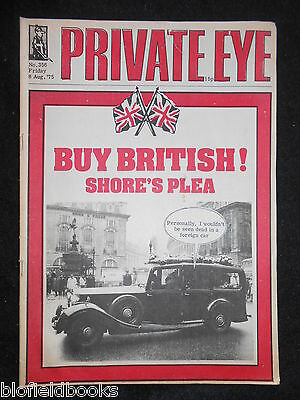 PRIVATE EYE - Vintage Satirical Political News Humour Magazine - 8th August 1975