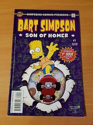 Bart Simpson Son of Homer #1 ~ VERY FINE - NEAR MINT NM ~ (2000, Bongo Comics)