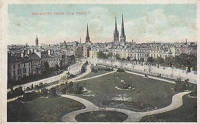 Postcard - Coventry - Coventry From The Park
