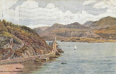 Postcard - Barmouth - The Estuary